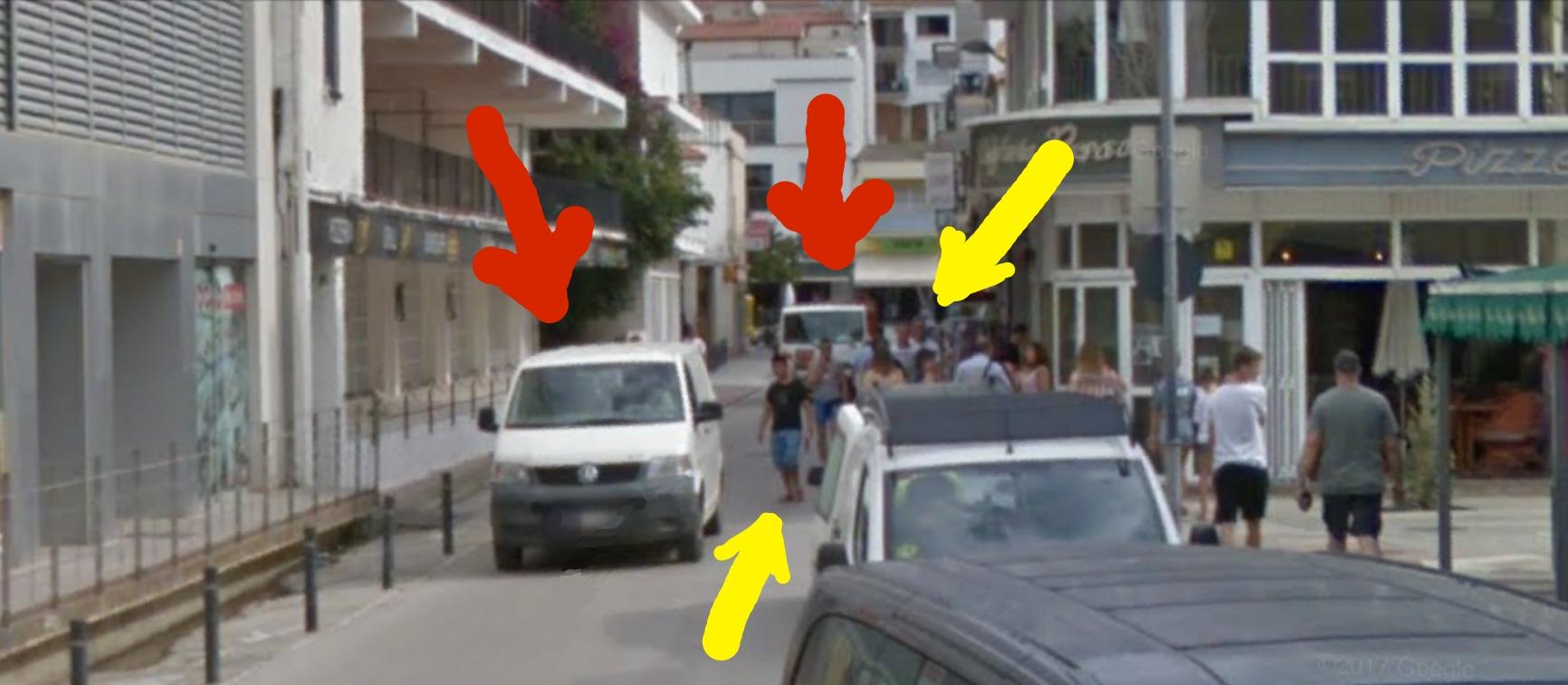 Vianants Peatones ESTARTIT Torroella