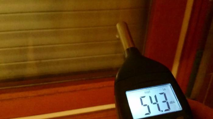 Sonometre mesura interior